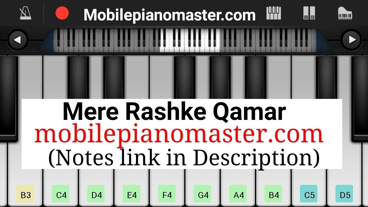 perfect piano tutorial with notes