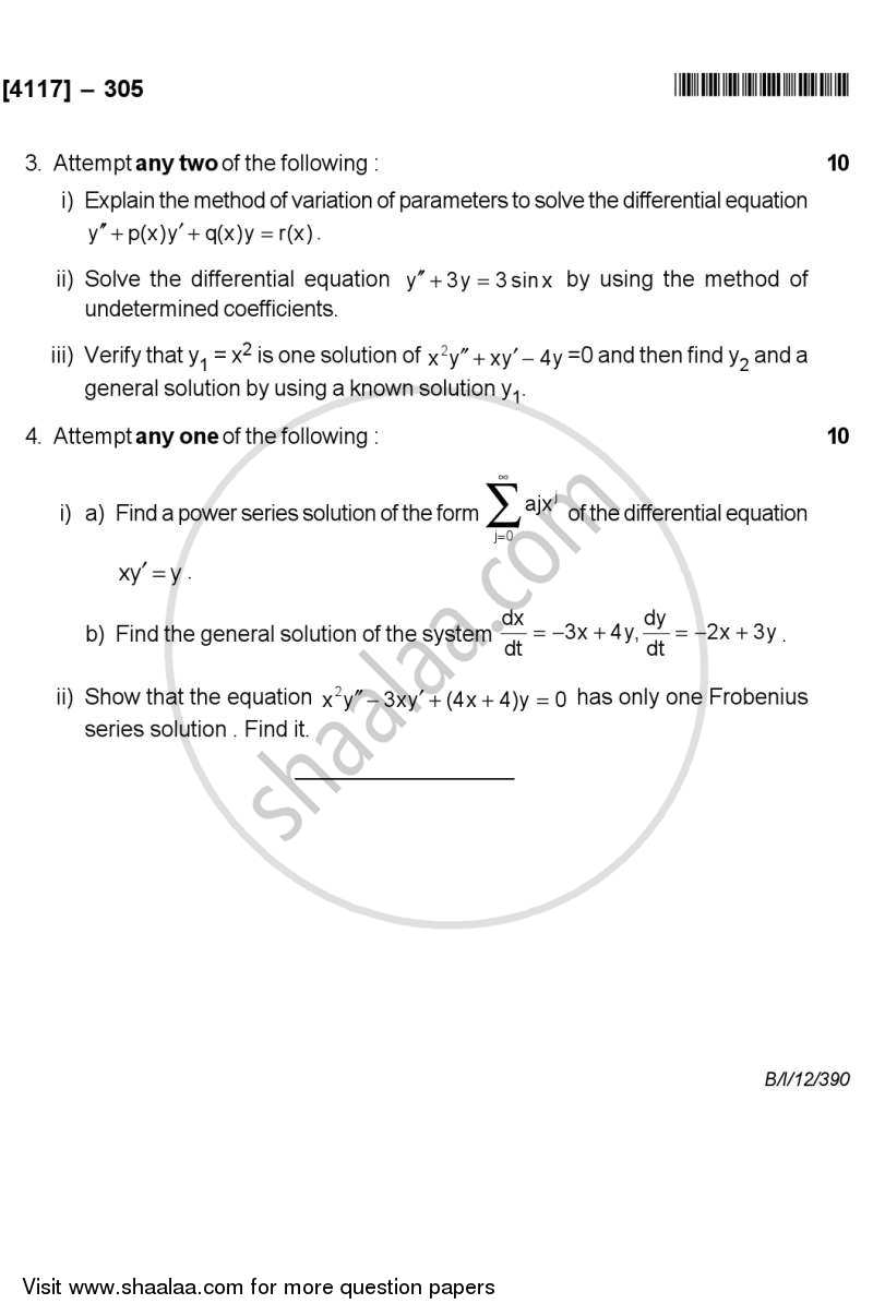 ordinary differential equations tutorial