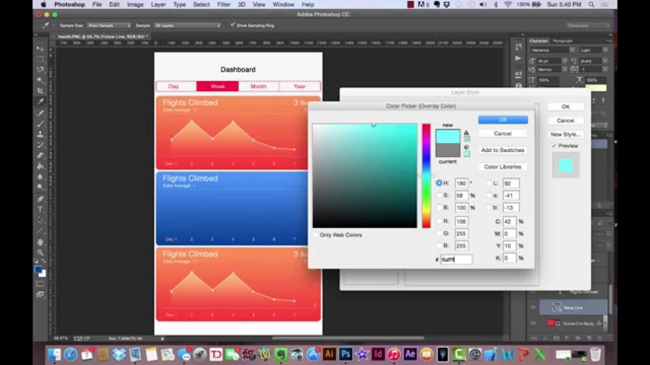 android app design tutorial photoshop