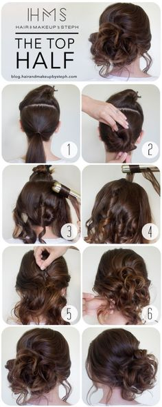 hairdo tutorial for medium hair