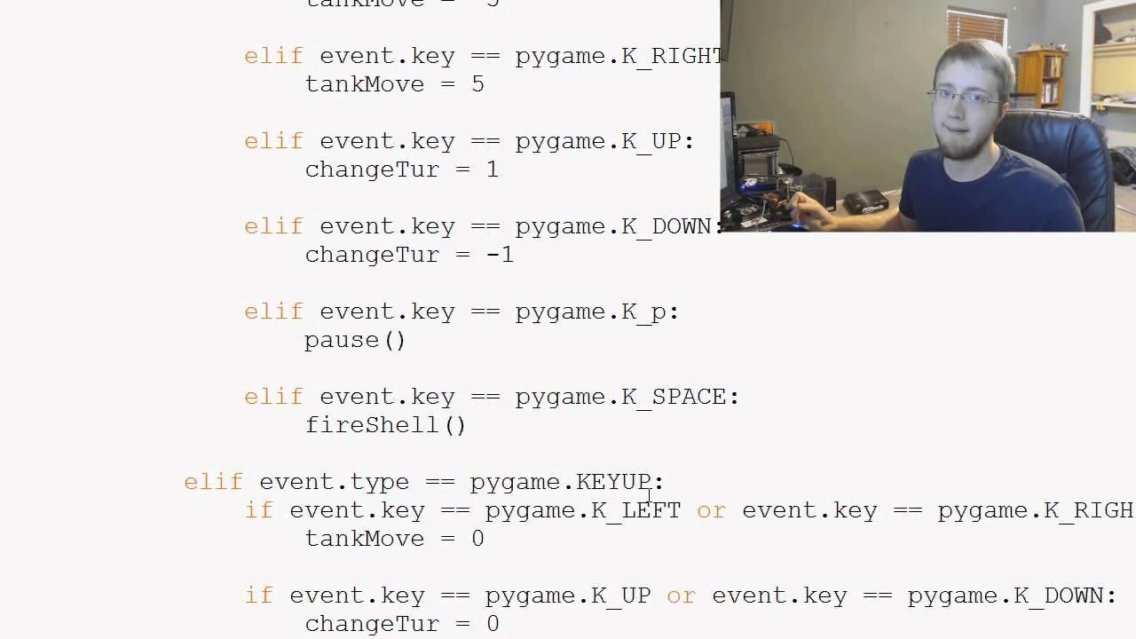 python pygame tutorial pdf