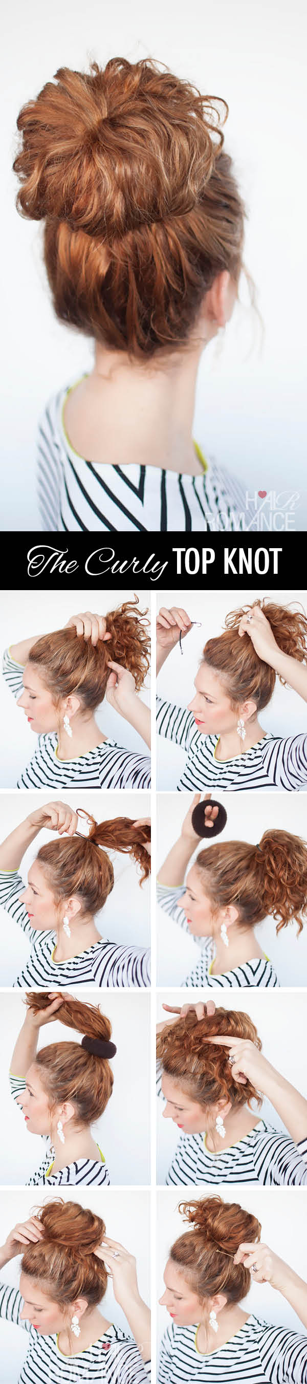 hairstyle tutorial for curly hair