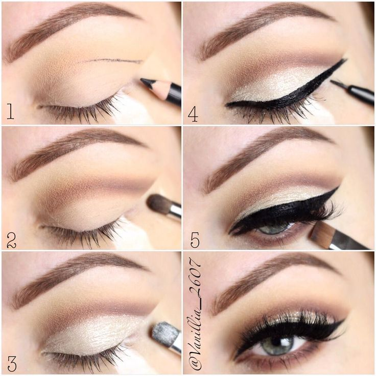 under eye eyeshadow tutorial