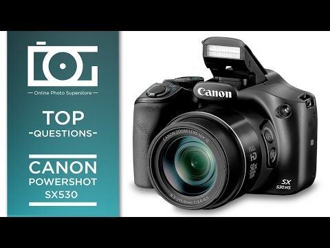 canon powershot s5is tutorial