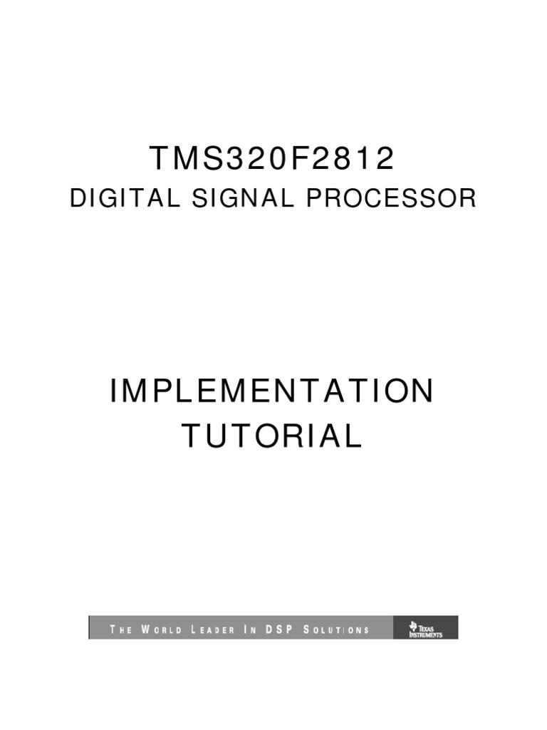 ti dsp programming tutorial