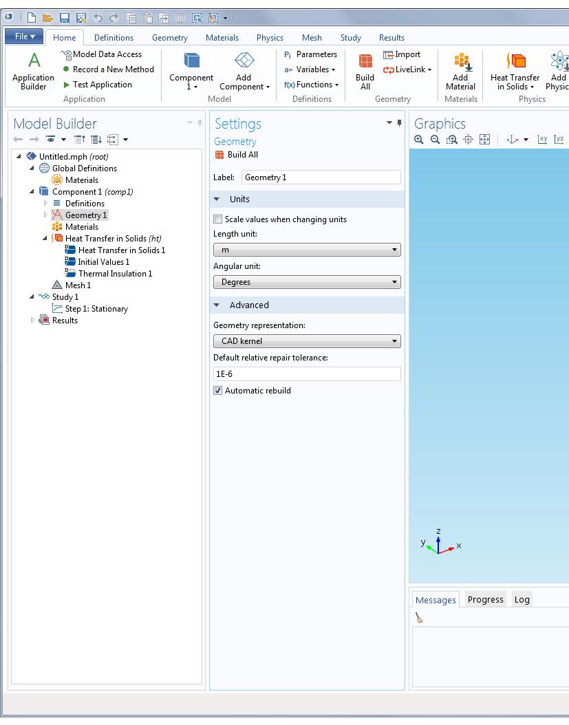 comsol application builder tutorial