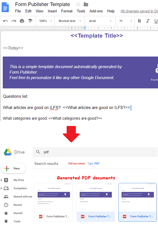 google forms tutorial pdf