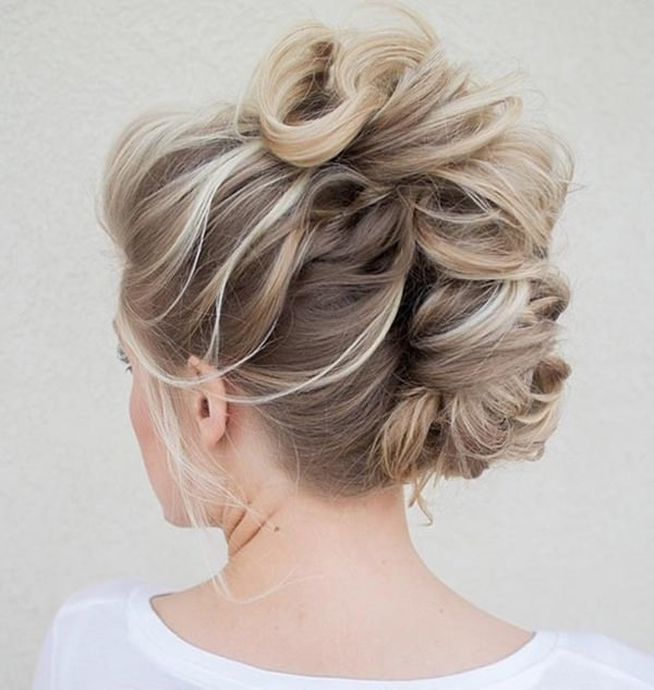 french twist tutorial updo for long thick hair