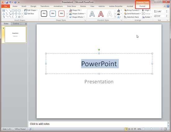 powerpoint 2010 tutorial for beginners