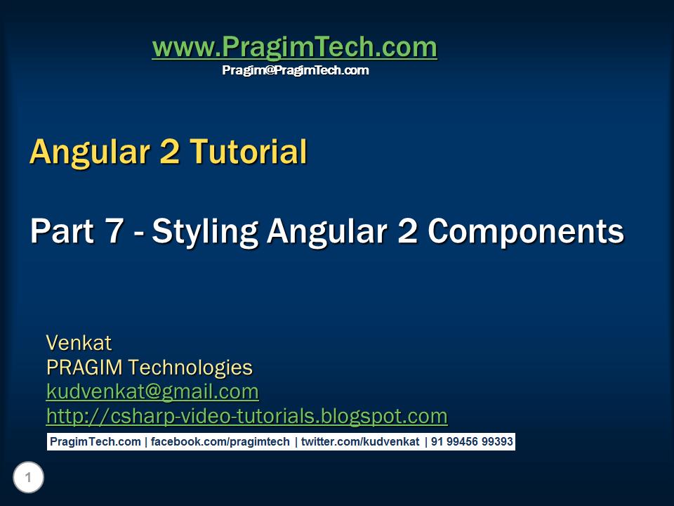 angular 2 directives tutorial