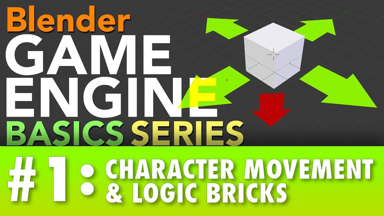 blender game character tutorial