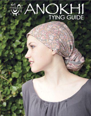 hair wrap tutorial scarf