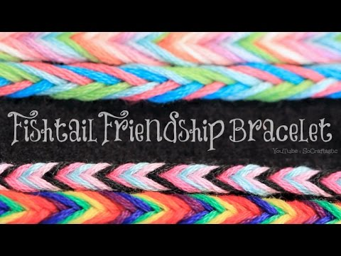 friendship bracelet tutorial youtube