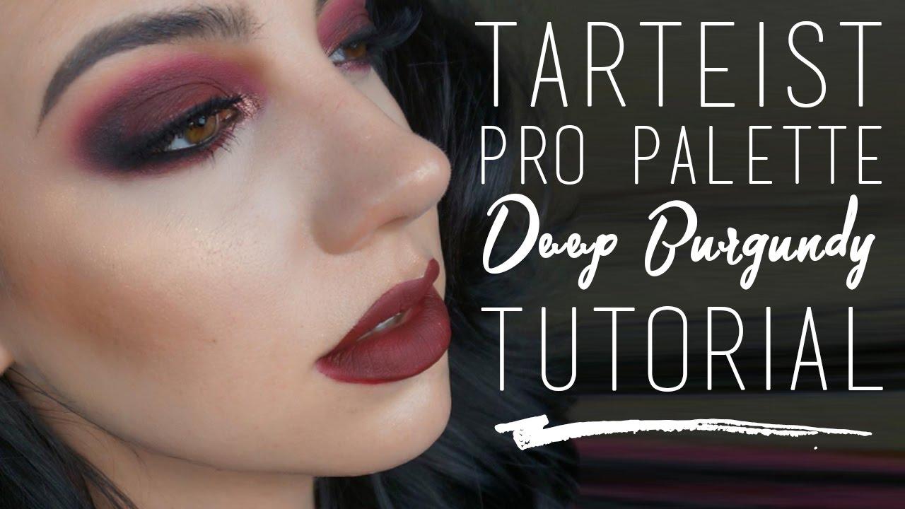 tarteist pro palette tutorial