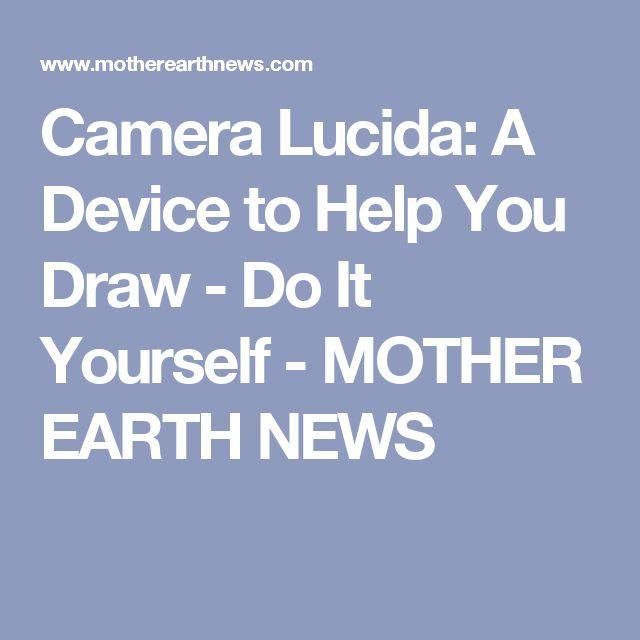 camera lucida app tutorial