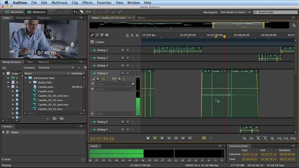 adobe audition tutorial 2017