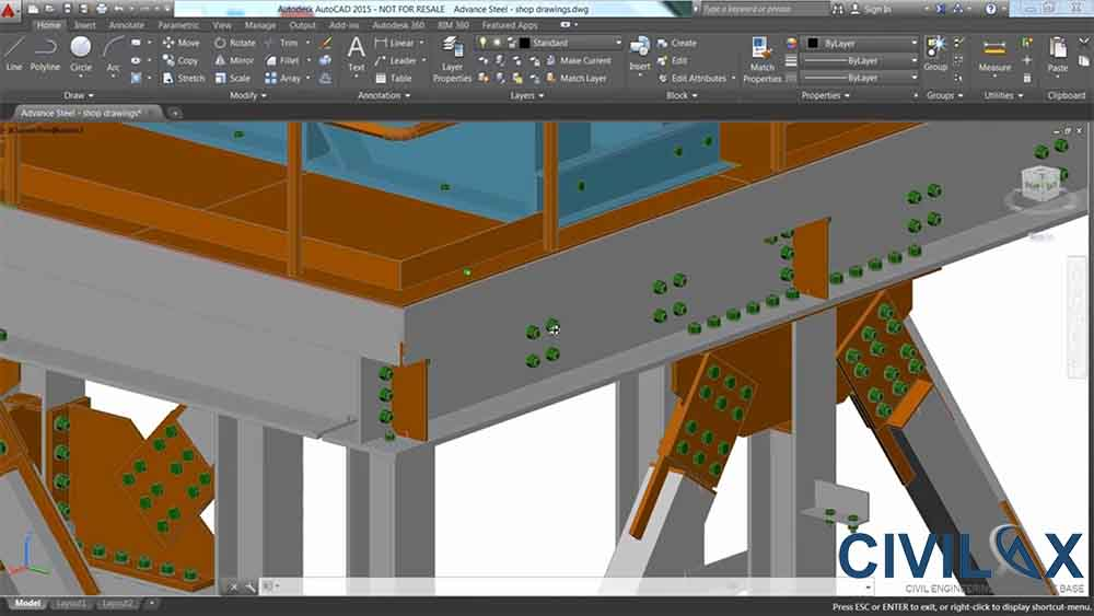 advance steel tutorial download