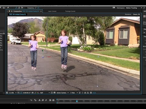 after effects tracking tutorial