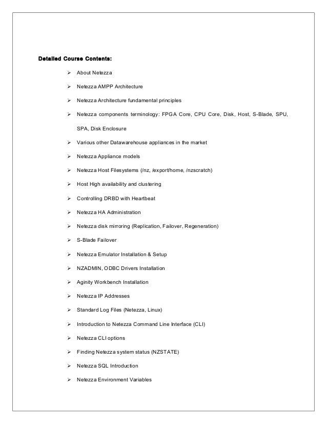 aginity workbench for netezza tutorial