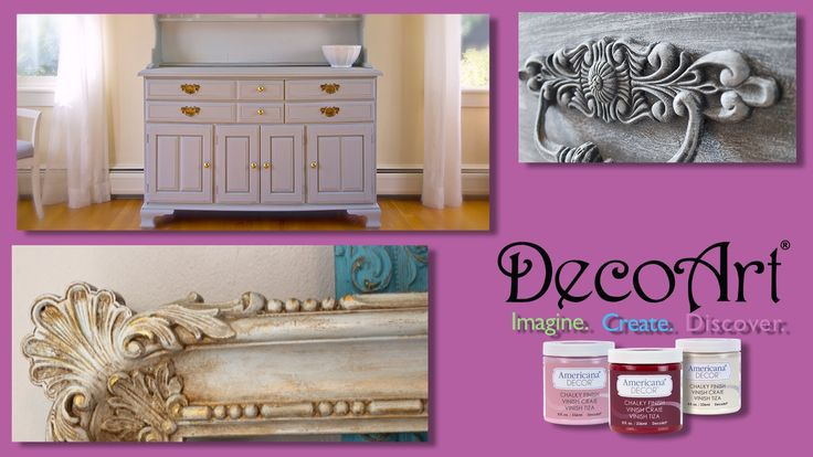 americana decor chalk paint tutorial