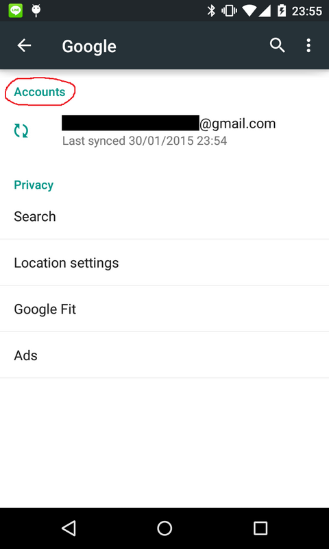 android google login tutorial