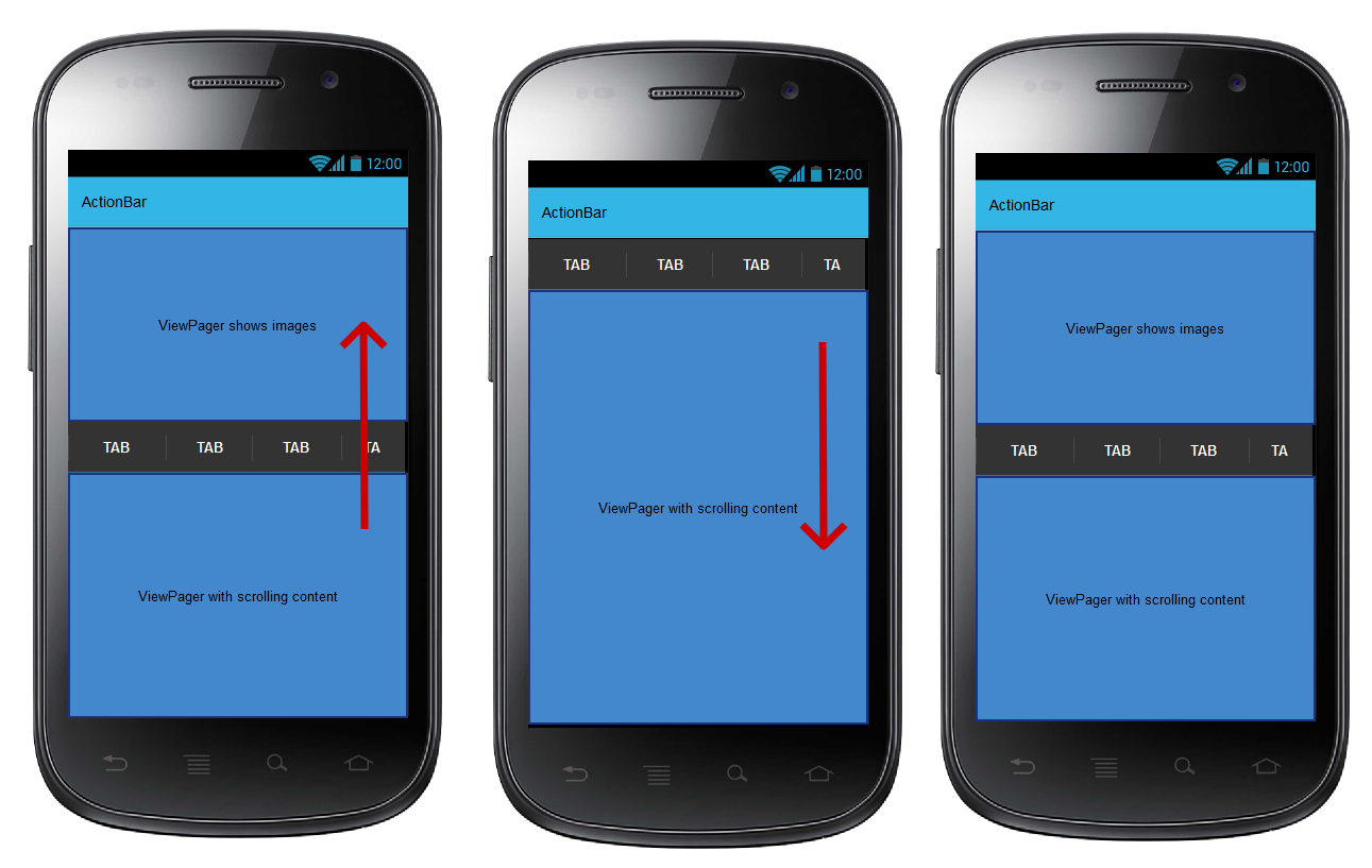 android scrolling activity tutorial