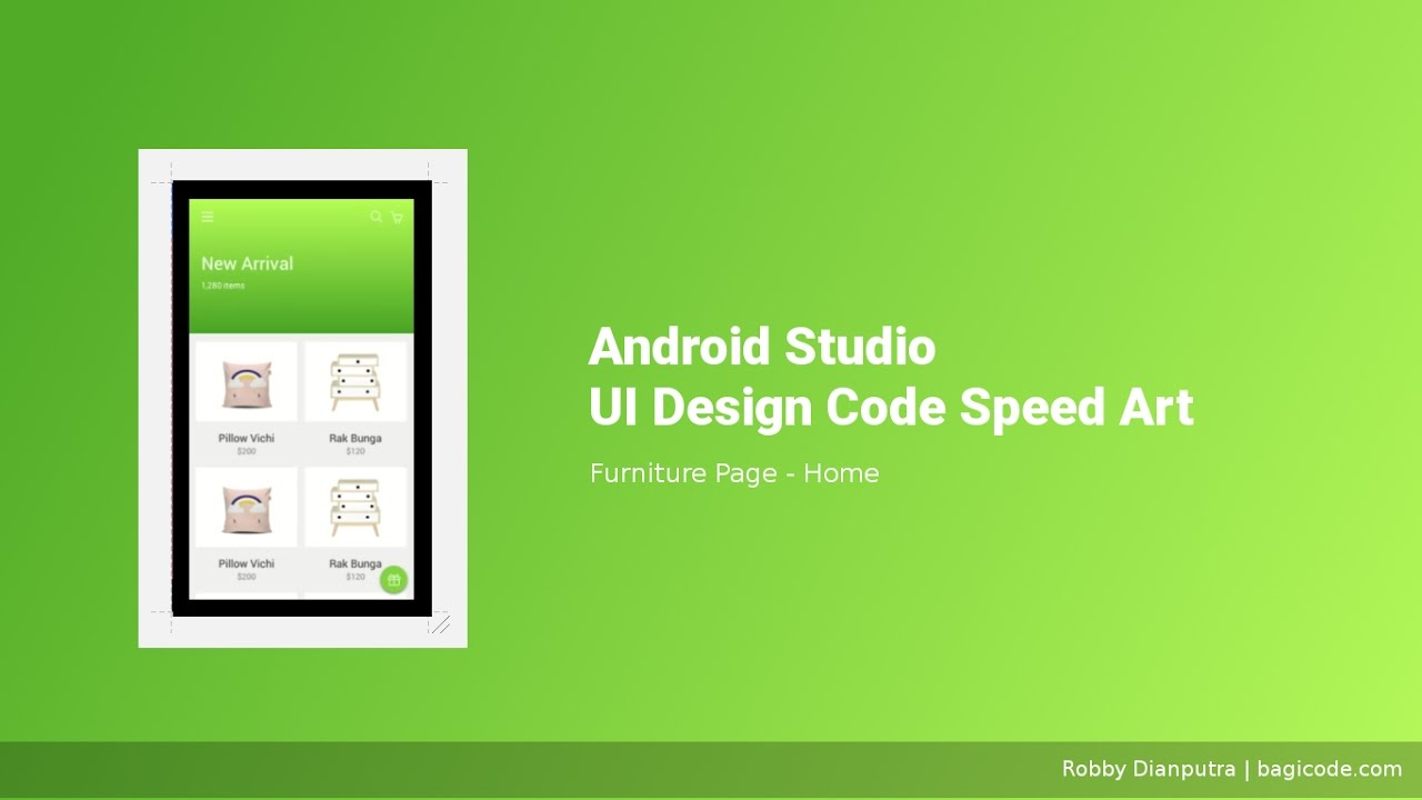android ui design tutorial android studio