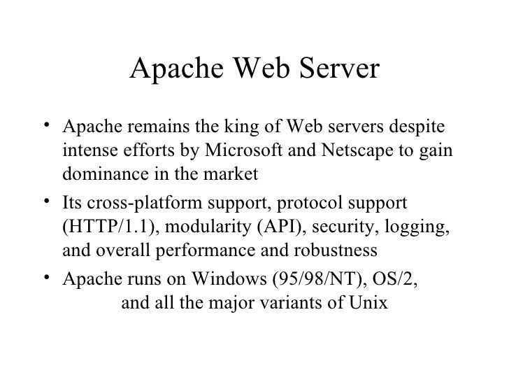 apache web server configuration tutorial