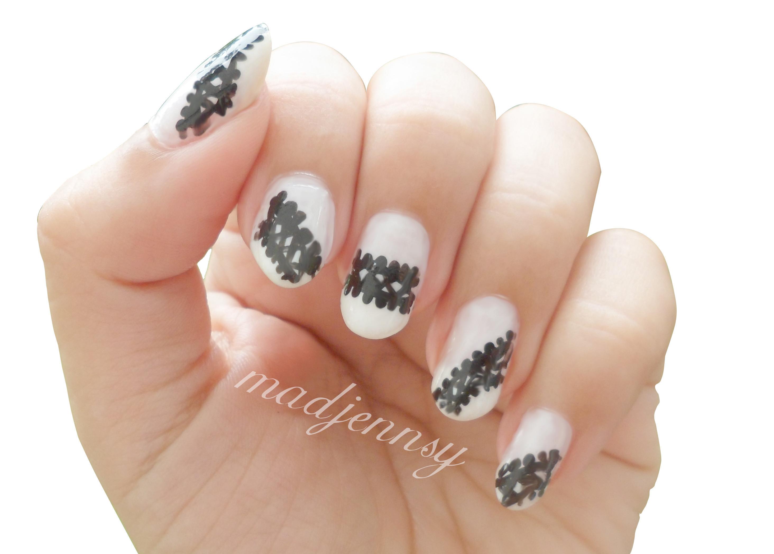 ariana grande nails tutorial
