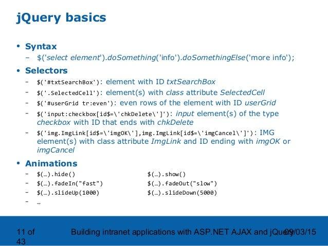 asp net ajax tutorial