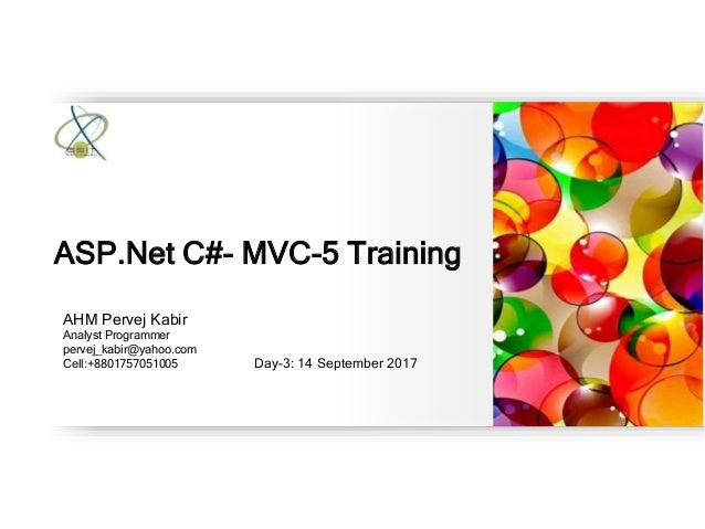 asp net mvc tutorial video c#