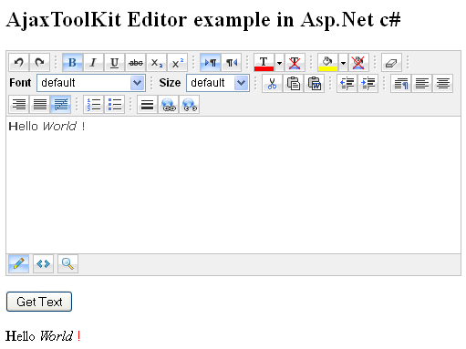 asp net tutorial with examples with c#
