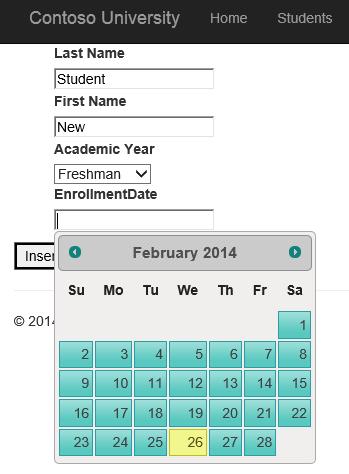 asp net web forms application tutorial