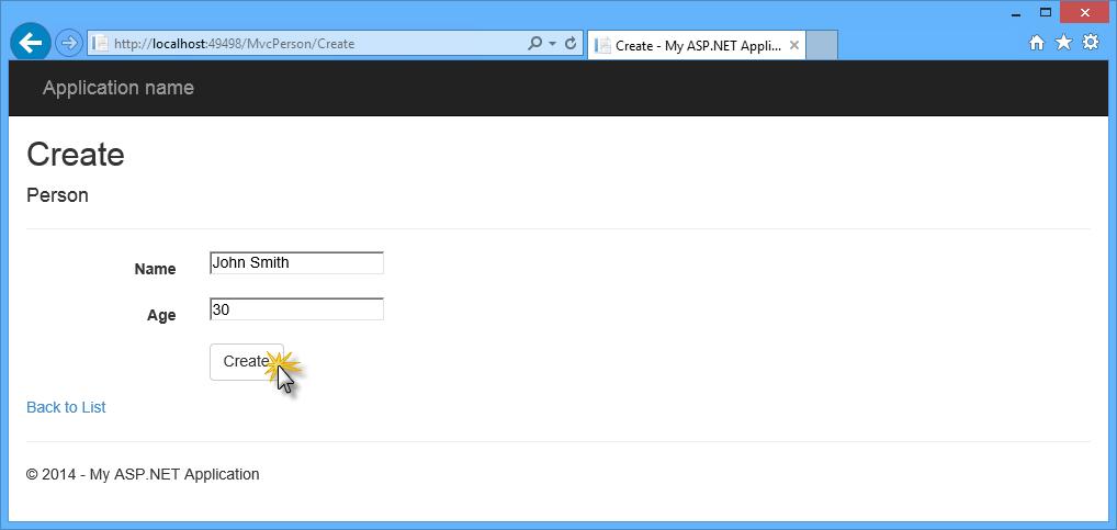 asp net web forms tutorial visual studio 2013