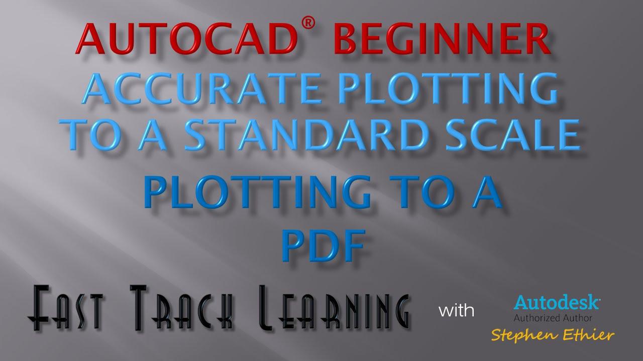 autocad 2015 tutorial pdf