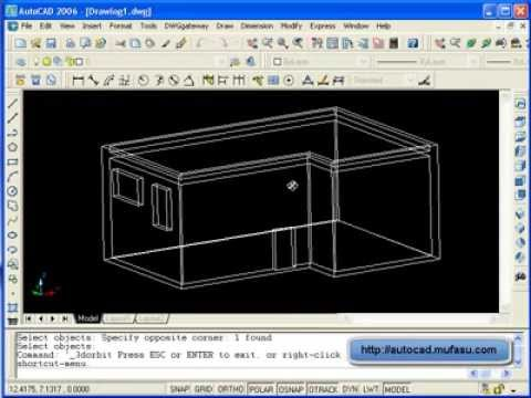 autocad 3d basic tutorial