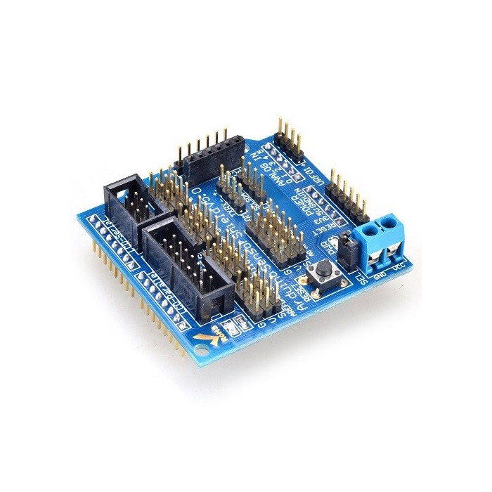 arduino sensor shield v5 0 tutorial
