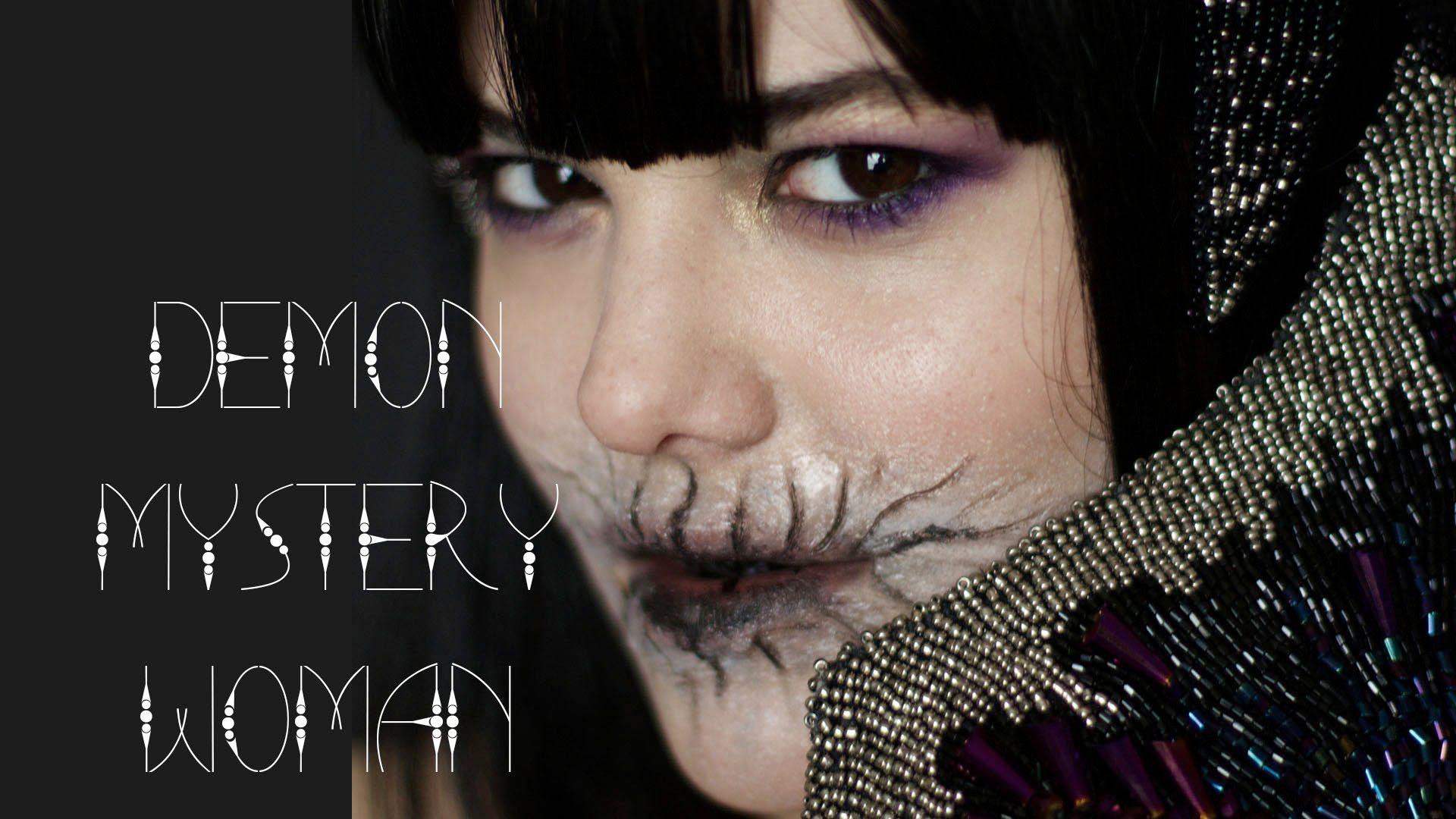 halloween demon makeup tutorial