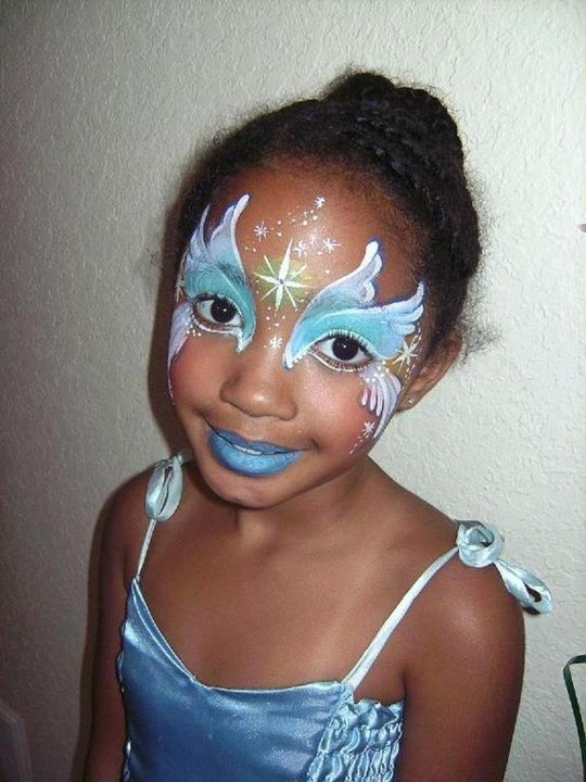 fairy face paint tutorial