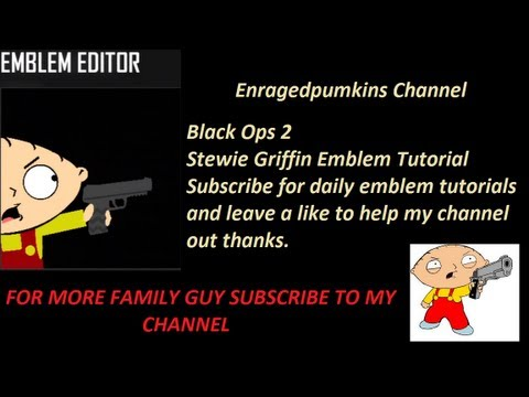 black ops 1 emblems tutorial