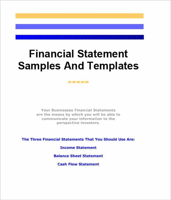financial statement analysis tutorial