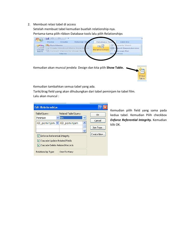 ms access 2007 tutorial for beginners