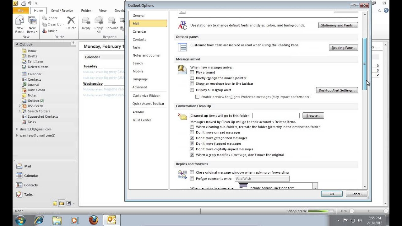 youtube microsoft outlook 2010 tutorial