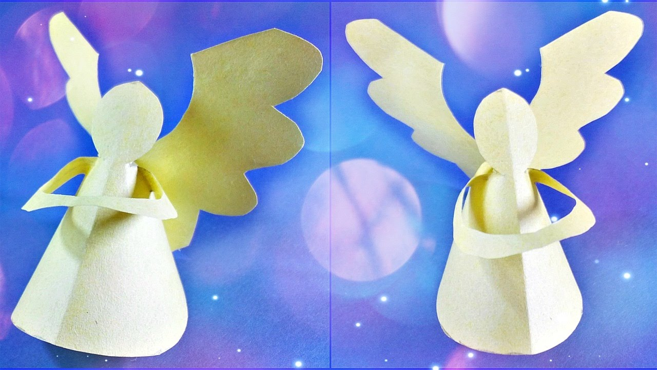 origami angel wings tutorial