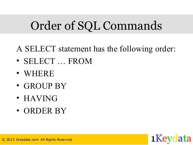 basic sql tutorial pdf