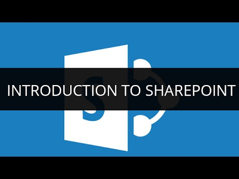 sharepoint tutorial videos for beginners