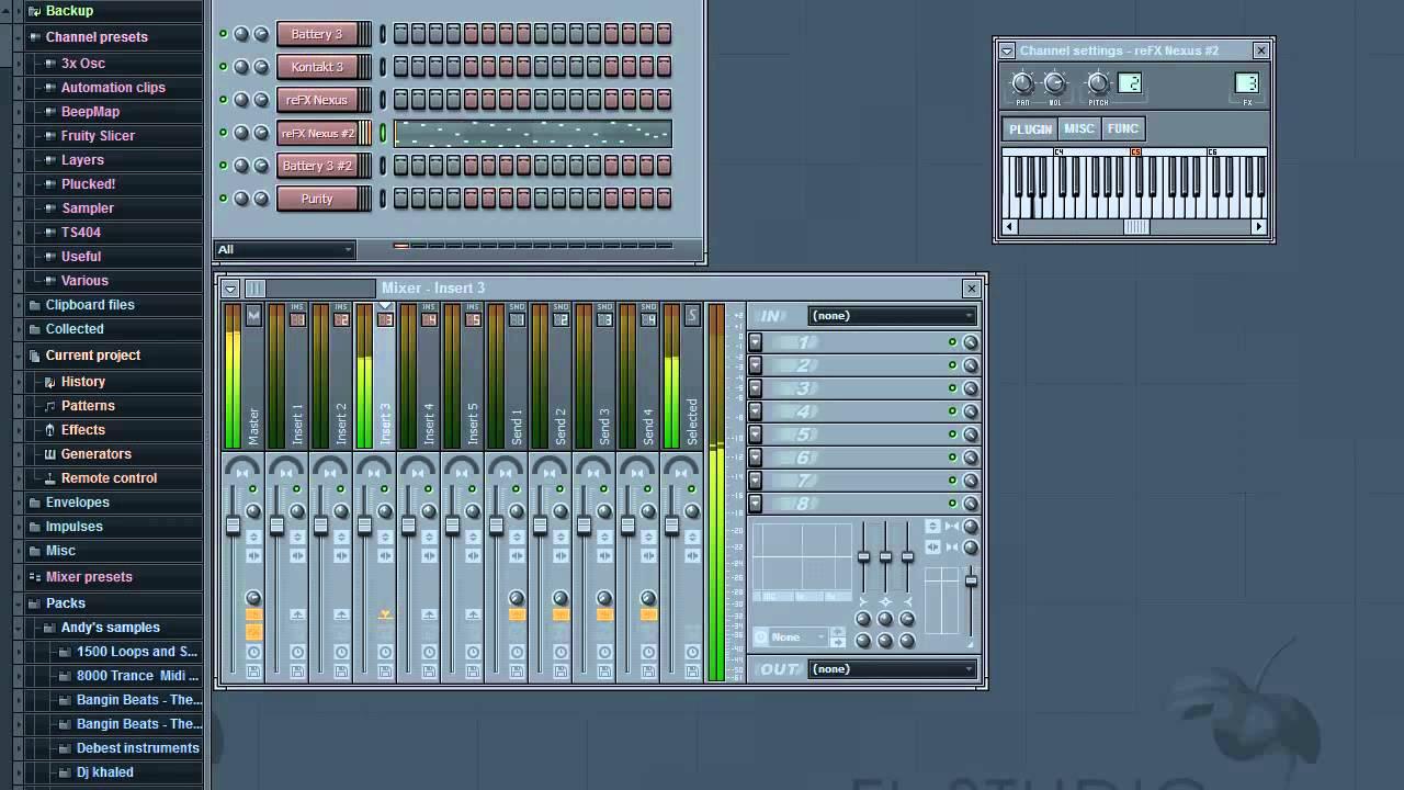 fl studio 12 hip hop beat tutorial