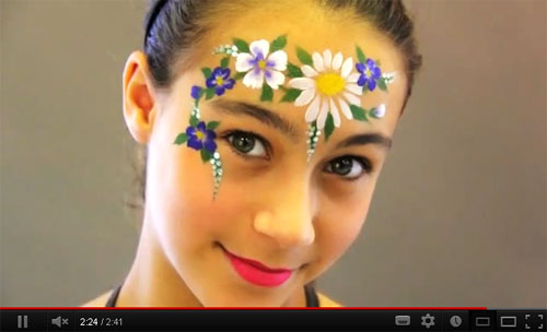 face painting tutorial videos