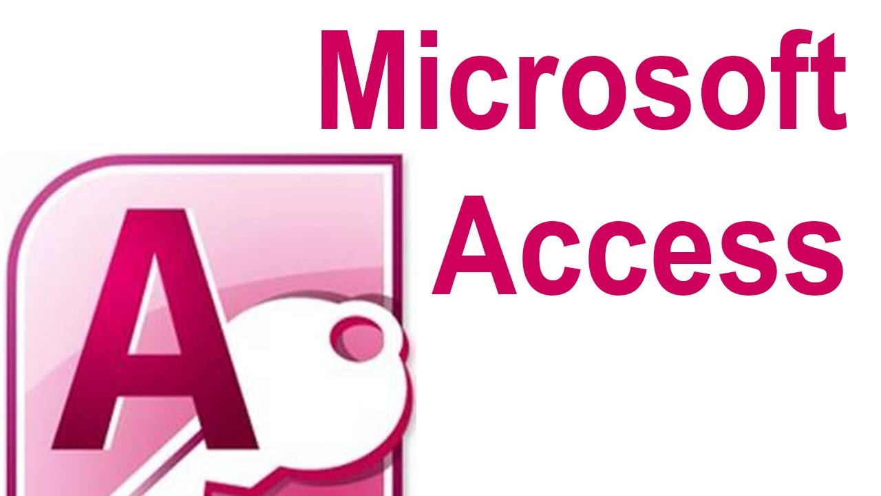 microsoft access 2007 tutorial