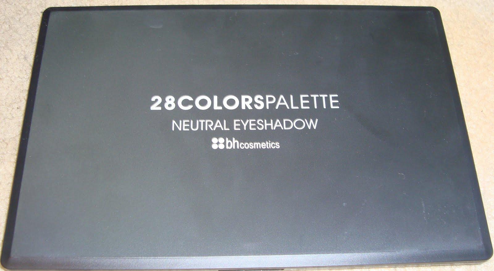 bh cosmetics 88 neutral palette tutorial
